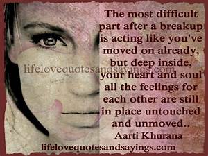BREAKUPS AND MOVING ON Quotes Like Success