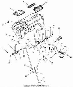 Ariens 921029  000101 - 099999   Deluxe 30 U0026quot  Platinum Parts Diagram For Controls