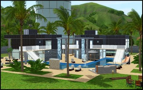 stunning maison moderne de luxe sims 3 photos awesome interior home satellite delight us