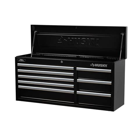 husky tool storage cabinets husky tool chest 41 in 8 drawer box storage cabinet