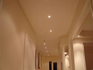 Recessed lighting in hallways : Samples of works by vicamp electrical services