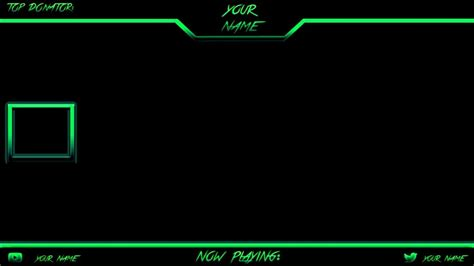 twitch template 1080p free twitch overlay template