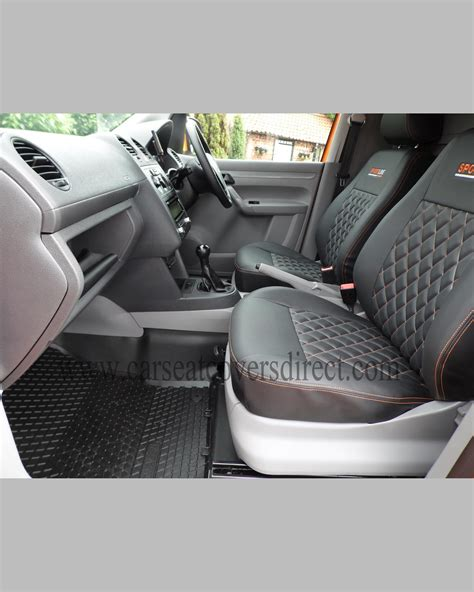 siege caddie volkswagen vw caddy black seat covers car seat covers