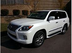 2014 Lexus LX570 Base 4x4 4dr SUV SUV 4 Doors White for