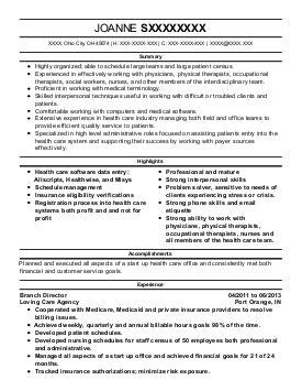 veterans service representative resume exle department