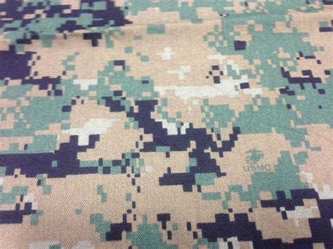 Camouflage Upholstery Fabric by Marpat Woodlands Camo Ny Co Twill Camouflage