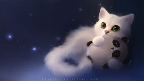 Cat Anime Wallpaper - anime cats wallpapers wallpaper cave