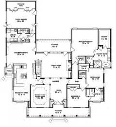 5 Bedroom Single Story House Plans 653903 1 5 Story 5 Bedroom 4 Baths 2 Half Baths Louisiana Plantation Style House Plan