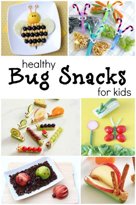 cutest bug theme healthy snacks  kids fantastic