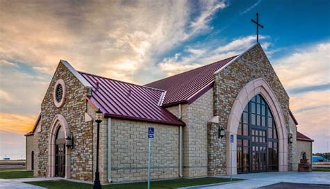 immaculate conception catholic church vega metal construction news