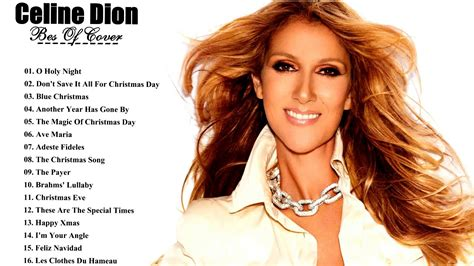 Celine Dion Christmas Songs Playlist - Celine Dion Songs Age