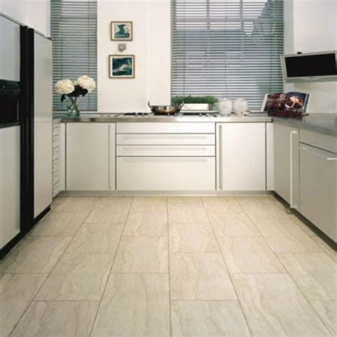 white kitchen with tile floor best floors for kitchens that will create amazing kitchen 1844