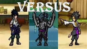 Sasuke (Susanoo) vs Sasuke (Curse Mark) vs Sasuke (Base ...