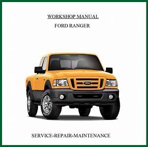 Workshop Service Manual For Ford Ranger 2006