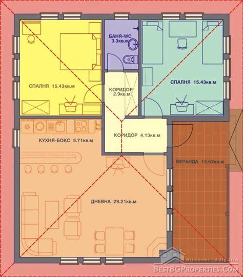 build a house floor plan 1 этажный традиционный болгарский дом