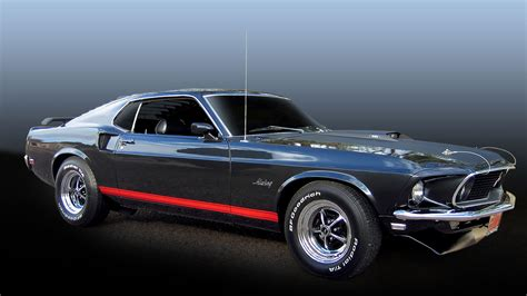 Muscle Car Mustang Hd Desktop Wallpaper 4873