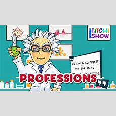 Learn About Jobs And Professions For Kids  Learning Occupation For Children Various