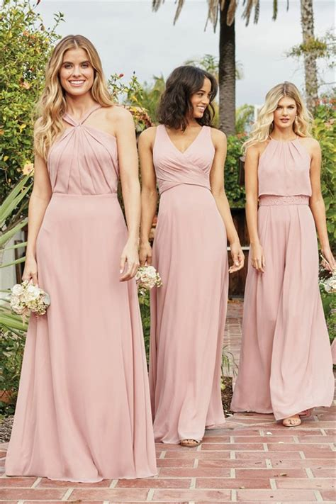 Pastel Bridesmaid Dresses: 55 Summery Designs hitched co uk