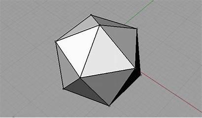 Icosahedron Truncated Unroll Plane Designcoding Using Decoder