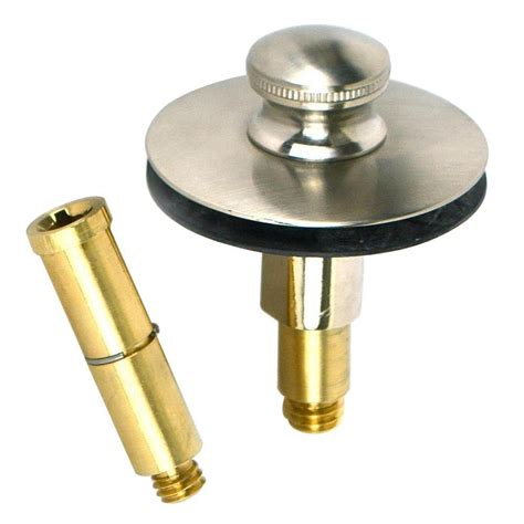 bathtub drain stopper watco push pull bathtub stopper with 3 8 in to 5 16 in