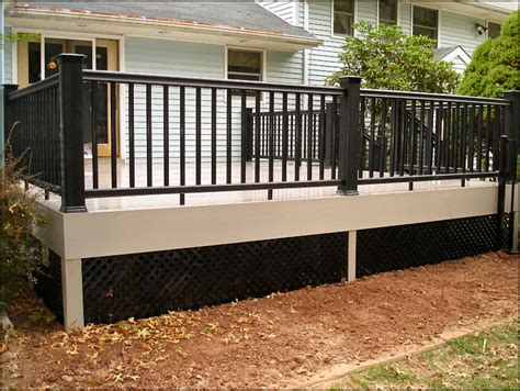 deck skirting ideas lattice buy black lattice deck skirting search home