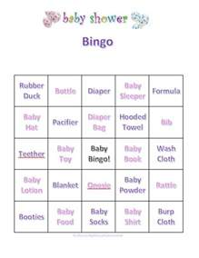Bridal Shower Gift Bingo Cards by Free Printable Boy Baby Shower Games