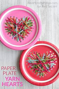 paper-plate-yarn-weaving-heart-craft-2 - Red Ted Art's Blog