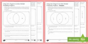 Using Venn Diagrams To Solve Worded Probability Problems
