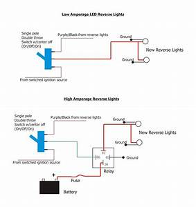 Led Reverse Light Wiring Questions