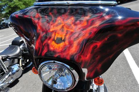 custom motorcycle paint jobs advrider bike design