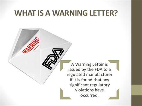 fda warning letters fda warning letters
