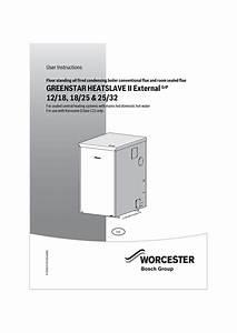 Bosch Greenstar Heatslave Ii External 25  32 Instruction