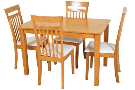 home dining sets table and 4 chairs shaker table