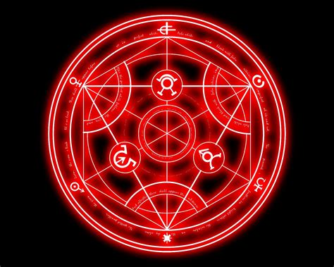 Anime Wallpaper Fullmetal Alchemist - alchemist kreis hintergrundbilder alchemist