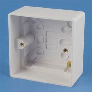 Get Gpat1g47 47mm Surface Mounted Pattress Wall Back Box 1
