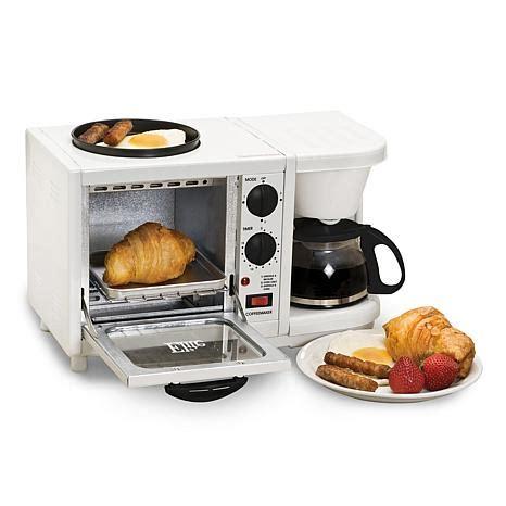 elite cuisine toaster elite cuisine 3 in 1 breakfast center 7332713 hsn