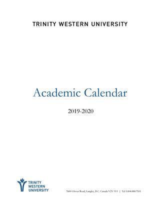 academic calendar twu issuu