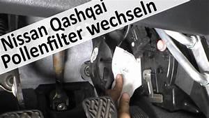 Nissan Qashqai Keilrippenriemen Wechseln : qashqai pollenfilter innenraumfilter wechseln youtube ~ Kayakingforconservation.com Haus und Dekorationen