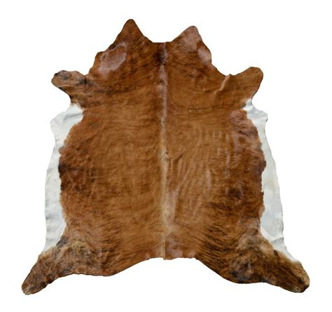 Tanning A Cowhide by Medium And White Cowhide By Jones Vintage