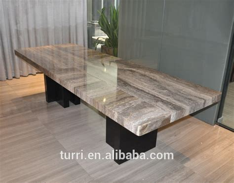 modern marble dining room table wood base dining table