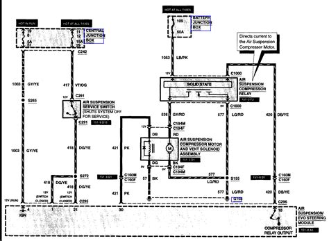 1998 A C Compressor Wiring Diagram by Does Anyone A Link Or A Diagram Of The 1998 Ford