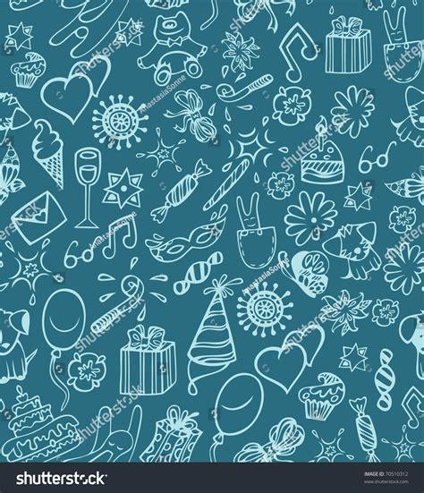 happy birthday pattern stock vector illustration 70510312
