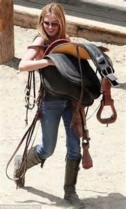 Wallpaperess Blue Jeans Horse