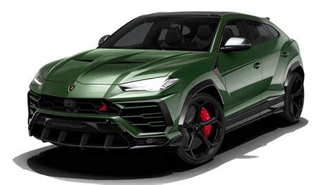 Mobil Lamborghini Urus by Topcar Lamborghini Urus Styling Package Preview