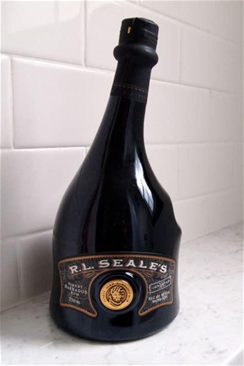 rl seales elegant rum   bottle  match