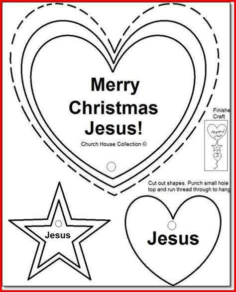 christmas crafts for sunday school preschoolers