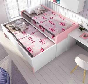 Lit Ado Ikea : chambre ado fille fun avec lit gigogne glicerio so nuit ~ Teatrodelosmanantiales.com Idées de Décoration