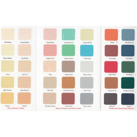 synthetic enamel paint shade card at rs 25 carrd paint shade card id 12803000988