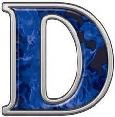 blue letters dr odd