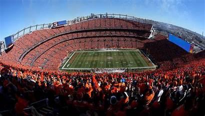 Broncos Denver Stadium Mile Patriots Field Sports